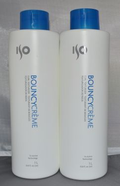 ISO Bouncy Creme 33.8oz (2 pack) Total = 67.6oz