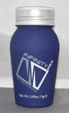 Infinity Hair Loss Concealing Fibers Light Brown Item #203 14 grams/0.49 oz