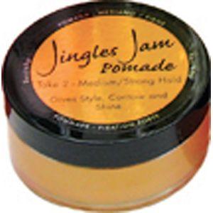 Jingles Jam Pomade Take 2 Medium-Strong Hold 2 oz
