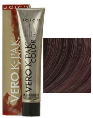 Joico Vero K-Pak Hair Color 4RV Red Claret (2 Pack)