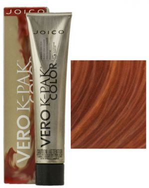 Joico Vero K-Pak Hair Color 7RC Bright Red Copper (2 Pack)