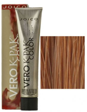Joico Vero K-Pak Hair Color 8GC Medium Golden Copper Blonde (2 Pack)