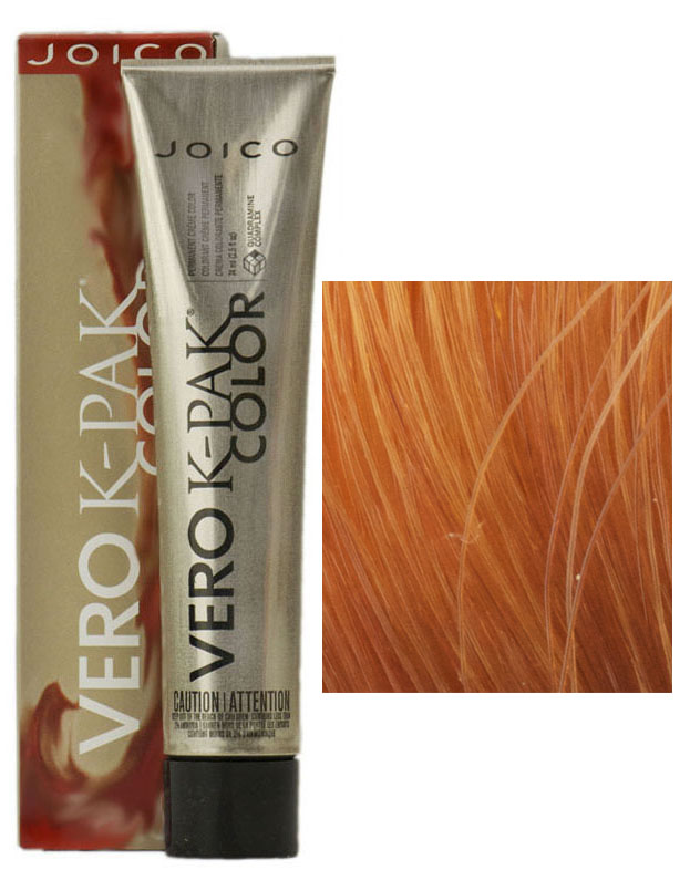 Joico Vero K Pak Hair Color 8rg Medium Red Gold