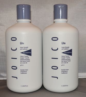 Joico Lite Instant Detangler and Conditioner 33.8 oz (2 pack)