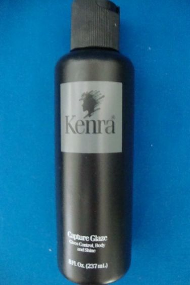 Kenra Capture GLAZE 8 oz, Gives Control Body and Shine