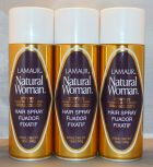 Lamaur Natural Woman Ultra Hold Professional Hair Spray 80% VOC 12 oz (3 pack)