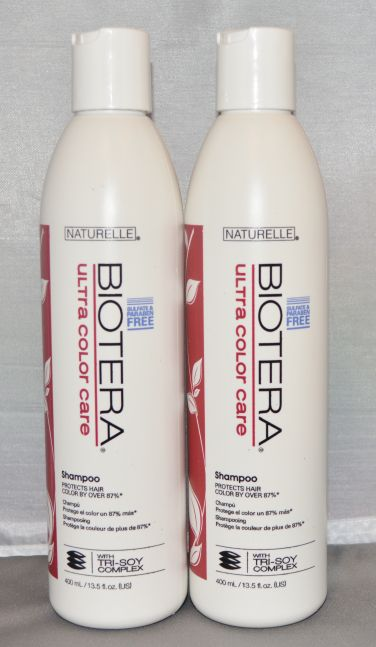 Naturelle Biotera Ultra Color Care Shampoo 13.5 oz Sulfate & Paraben Free (2 pack)