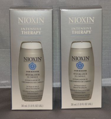 Nioxin Intensive Therapy Hair Booster For Thin-Looking Hair 1.0 oz (2 pack) Total = 2oz