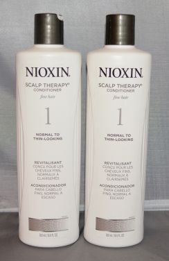 Nioxin Scalp Therapy Conditioner System 1 Fine/Normal to Thin-Looking Hair 16.9 oz (2 pack)