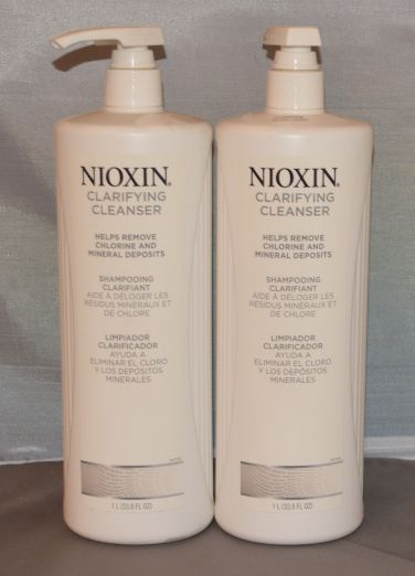 Nioxin Clarifying Cleanser 33.8 oz (2 pack) Total = 67.6oz