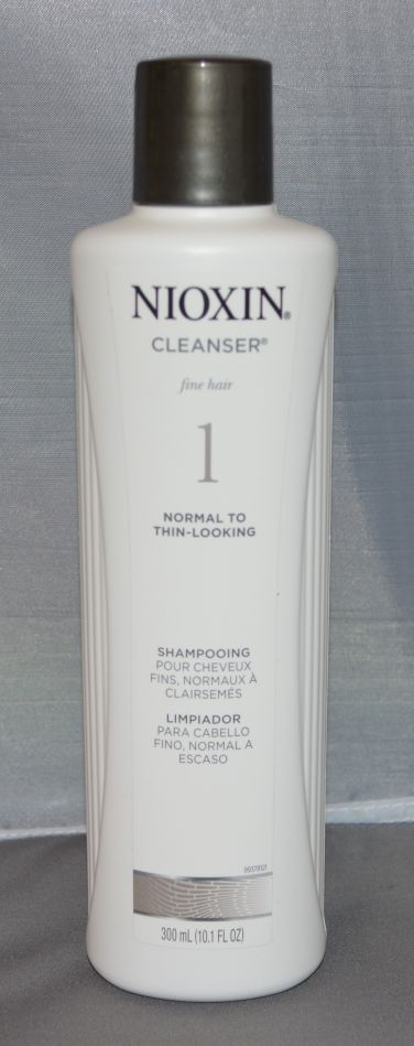 Nioxin Cleanser System 1 Fine/Normal to Thin-Looking Hair 10.1 oz