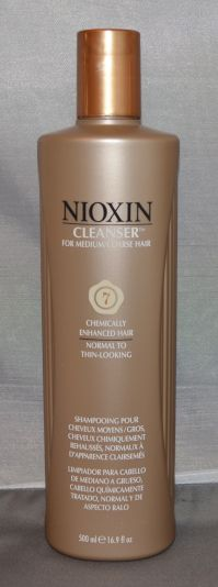 Nioxin Cleanser System 7 Medium/Coarse/Treated/Normal to Thin-Looking Hair 16.9 oz