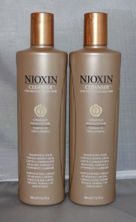 Nioxin Cleanser System 7 Medium/Coarse/Treated/Normal to Thin-Looking Hair 16.9 oz (2 pack)