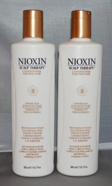 Nioxin Scalp Therapy Conditioner System 3 Fine/Treated/Normal to Thin-Looking Hair 10.1 oz (2 pack)