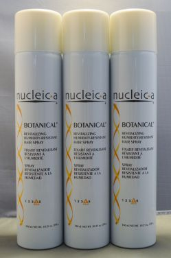 Nucleic-a Revitalizing Humidity-Resistant Hairspray Botanical 9 oz (3 pack) Total = 27oz
