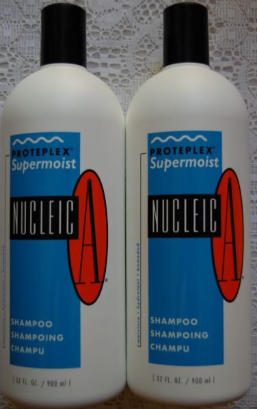 Nucleic-A Proteplex Supermoist Shampoo 32 oz each (2 pack) Includes One Free Pump