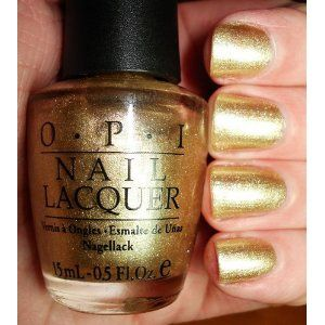 OPI I Get A Kick Out of Gold Nail Polish 6R6 Discontinued