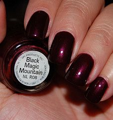 OPI Black Magic Mountain Nail Polish