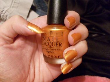OPI Burning Love Nail Polish