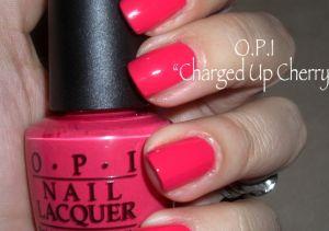 OPI Charged Up Cherry NLB35 Nail Polish