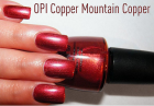 OPI Copper Mountain Copper Nail Polish