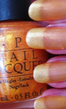 OPI Goldilocks Rocks NLB47 Nail Polish