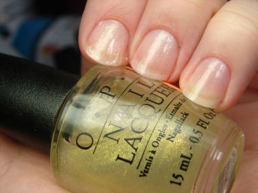 OPI Heart of Gold Nail Polish