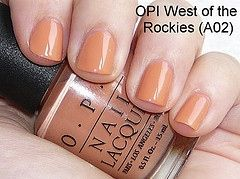 OPI West Of The Rockies Nail Lacquer