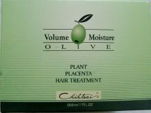 Chihtsai Volume Moisture Olive Plant Placenta Hair Treatment 17 oz