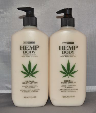 Probeaute Hemp Body Herbal Body Lotion 13.5 oz (2 pack) Total = 27oz