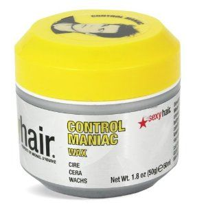 Sexy Hair Short Sexy Hair Control Maniac Wax 1.8oz