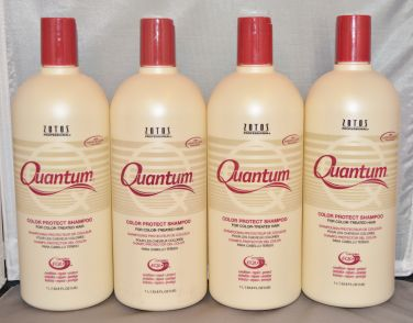 Quantum Color Protect Shampoo 33.8oz (4 pack) Total = 135.2oz with pump