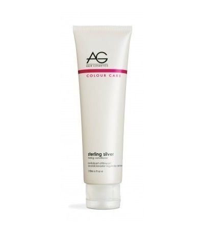 AG Hair Cosmetics Colour Care Sterling Silver Toning Conditioner 6 oz