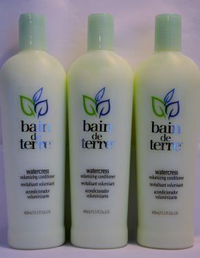 Bain De Terre Watercress Volumizing Conditioner 13.5oz (3 pack)