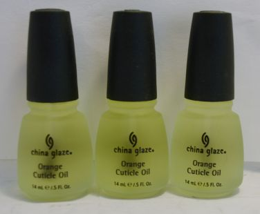 China Glaze Orange Cuticle Oil .5oz (3 pack)