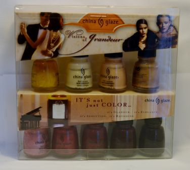 China Glaze Visions of Grandeur Set 9 Shades Nail Polish