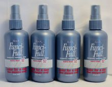 Roux Fanci-Full Temporary Hair color Rinse White Minx #52 4oz each (4 pack)