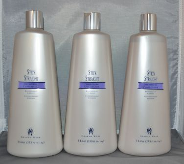 Graham Webb Stick Straight Smoothing Conditioner 33.8 oz (3 pack)