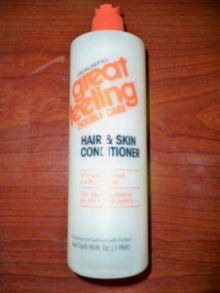 Great Feeling Hair & Skin Conditioner by Realistic 16 oz