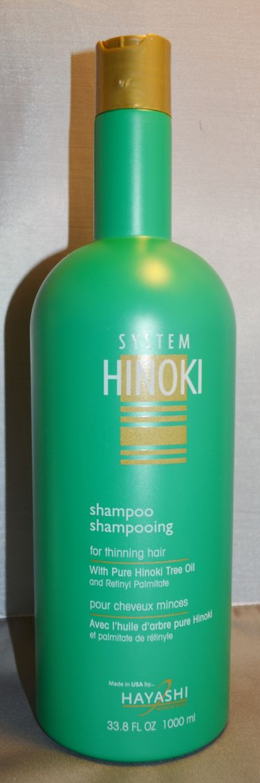 Hayashi System Hinoki Shampoo For Thinning Hair 33.8 oz