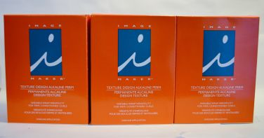 Image Maker Texture Design Alkaline Perm - One Application (3 pack)