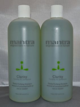 Mantra Clarity Gentle Purifying Shampoo 32 oz (2 pack)