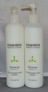 Mantra Immerse Moisturizing Body Lotion 8oz (2 pack)