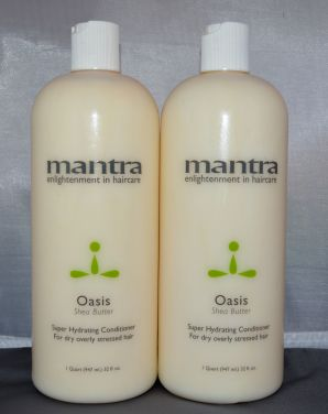 Mantra Oasis Super Hydrating Conditioner 32 oz (2 pack) Total = 64oz