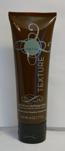 Metro3 Texture Wave and Curl Defining Cream 4oz