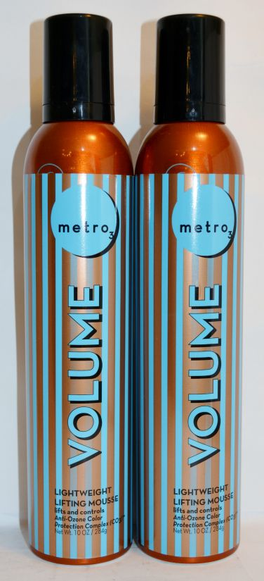 Metro3 Volume Lightweight Lifting Mousse 10oz (2 pack)