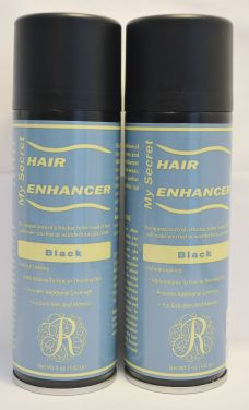 My Secret Hair Enhancing Spray Black 5oz (2 pack)