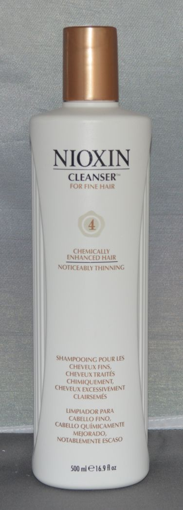 Nioxin Cleanser System 4 Fine/Treated/Noticeably Thinning Hair 16.9 oz