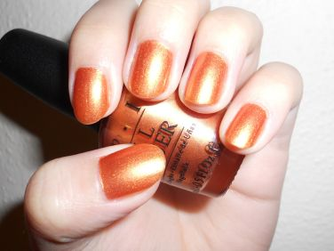 OPI Opus in Amber Nail Polish