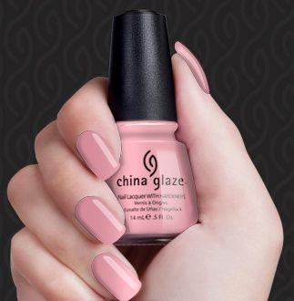 China Glaze Pink Champagne Nail Polish